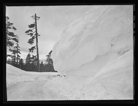 Snow at Government Camp, Mount Hood