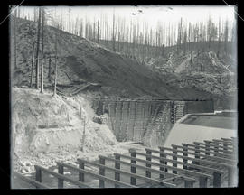 Cazadero Dam, completed