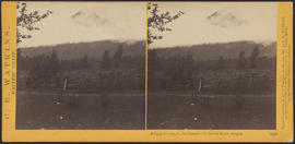 """A foggy morning in the Cascades, Columbia River, Oregon."" (Stereograph 1250)"