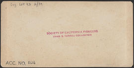 "Verso of, ""At Port Gamble, W. T."" (Stereograph 5254)"