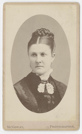 J. D. McGowan portrait of an unidentified woman