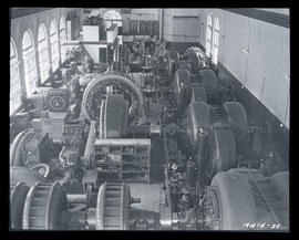 Cazadero Dam, powerhouse interior