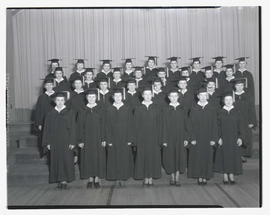 Unidentified graduating class