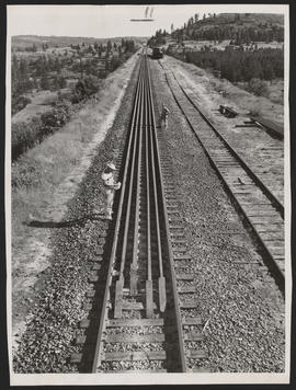 Welded Rails for Railroad Tunnel Construction, Kentucky