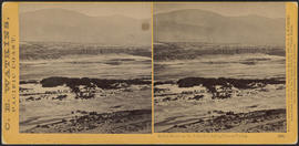 """Indian Ranch on the Columbia, during Salmon Fishing"" (Stereograph 1331)"