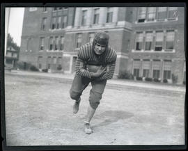 Arnold Heikenen, Washington High School football player