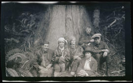 Group in the woods at Blendensop
