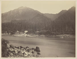 """Middle Landing. Oregon R.R. Cascades."" (Mammoth 431)"