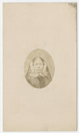 Portrait of an unidentified woman from Partridge Studio