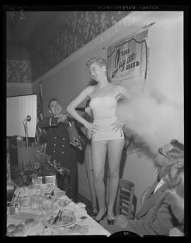 """Miss Flame"" of 1954 winner, Marilyn Craghead"