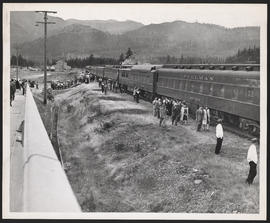 United Nations Victory Special Train, North Bonneville Station, Washington