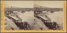 """Upper Cascades, Columbia River."" (Stereograph 1270)"