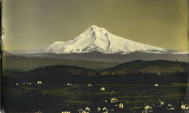 Mt. Hood from Mt. Tabor, 1907