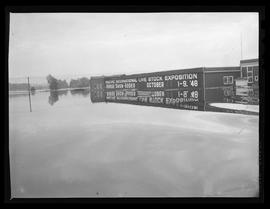 Flood damage to Pacific International Livestock Exposition building, Portland