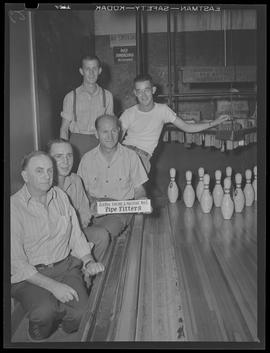 Albina Engine & Machine Works, pipe fitters bowling team