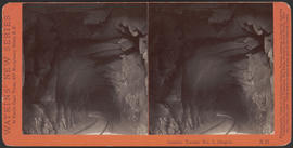"""Interior Tunnel No. 3, Oregon."" (Stereograph E21)"