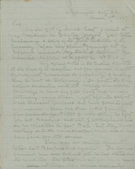 Copy of letter to Atkinson