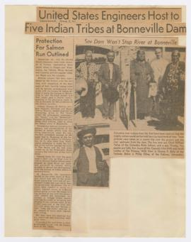 Article discussing Bonneville Dam