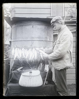 Bohlman with fish