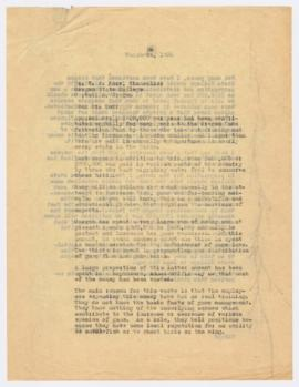 Letter to President W. J. Kerr recommending that Oregon State College be responsible for overseei...