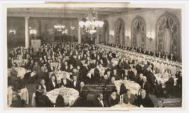 Image of 19th American Game Conference Dinner, Hotel Pennsylvania, November 29, 1932