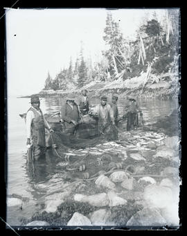 Net fishing in Alaska