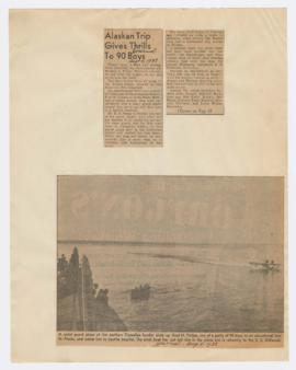 Articles discussing American Boy trip to Alaska