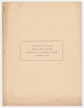 """Oregon State Planning Board Research Program for 1936"""