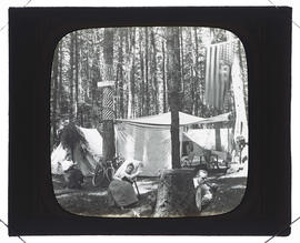 Camp Tawasentha on July 4th